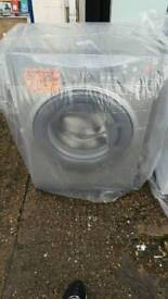 HOTPOINT 6KG 1200 SPIN WASHING MACHINE IN SILVER