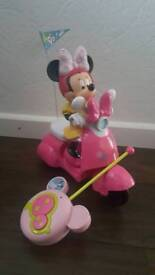 Rc Minnie mouse scooter