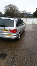 SEAT(ALHAMBRA)Reg.58 with Slough private hire plate,Quick Sale £1850