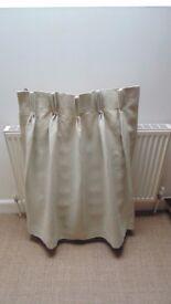 Brand new unused linen curtains