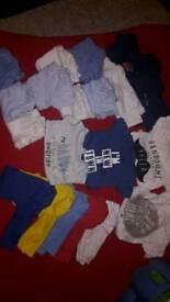 20 baby vests - 3-6 months