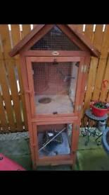 Bird aviary cage