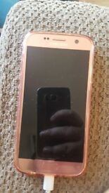 Samsung s7 rose gold unlocked
