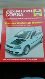 Haynes corsa manual xreg-06 models