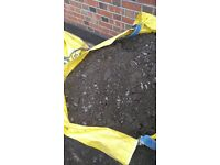 Topsoil - free collection, 2 jumbo bags full, plus loose soil also.