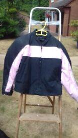 Ladies / girls motorcycle Jacket & Trousers (will split)