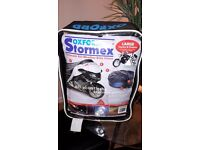 OXFORD STORMEX Ultimate All Weather Outdoor Motorcycle Bike Cover. Large. Cost new £80-£90