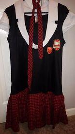 Anne summers school girl fancy dress costume.