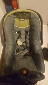 Baby bundle (car seat, changing table, walker, bouncer, bath ring etc