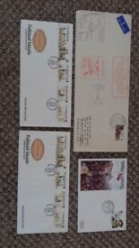 First day covers Falklands