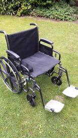 Roma Medical 1473 Self Propel Wheelchair.