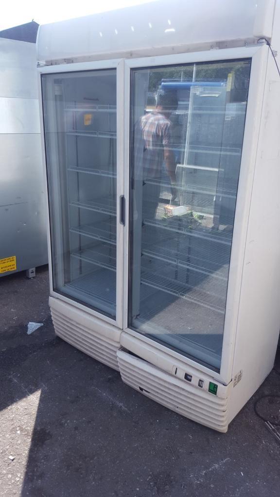 Framec Double Door Glass Display Freezer