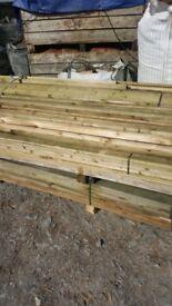 88 x 38mm x 4.8 .metres fence rails