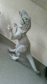 Baby toy dinasour with lights and sound excellent condition