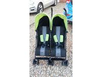 OBaby Apollo Double Stroller Pushchair