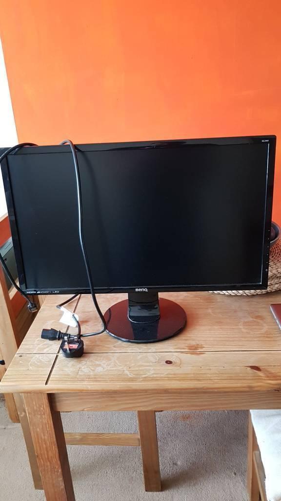 24 inch BenQ HD Computer Monitor