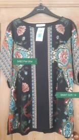 BNWT Ladies M&S Per Una Top Smart Casual Size 14