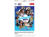 Capital summertime ball tickets x 2 fab seats Wembley 9th June