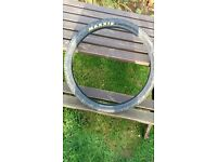 Maxxis 26 x 2.1 MTB tyre used 52/53-559 slight damage
