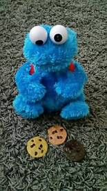 Cookie monster toy for children.