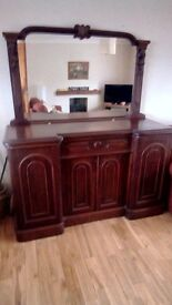 Early Victorian Chiffonier sideboard
