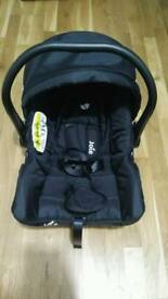 Joie Juva Group 0+ Baby Car Seat - Black