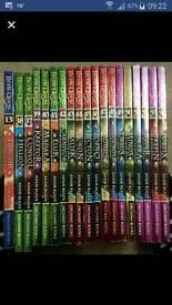 Beast quest books 37-54 & 13