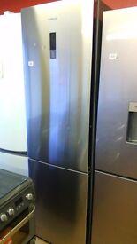 KENWOOD Stainless Steel fridge freezer, new Ex display