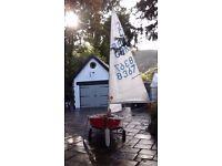 Cadet sailinghy dinghy