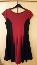 Black & Red Miso Dress Size 12