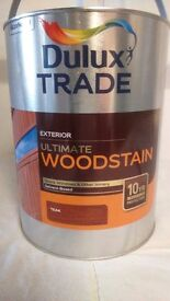 5ltr Ultimate Wood Stain, for doors, windows & other joinery