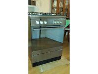 Amica gas cooker freestanding