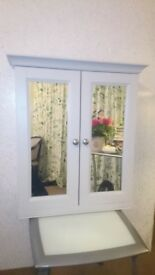 Mirrored Bathroom Cabinet - Brand New. Fully Assembled