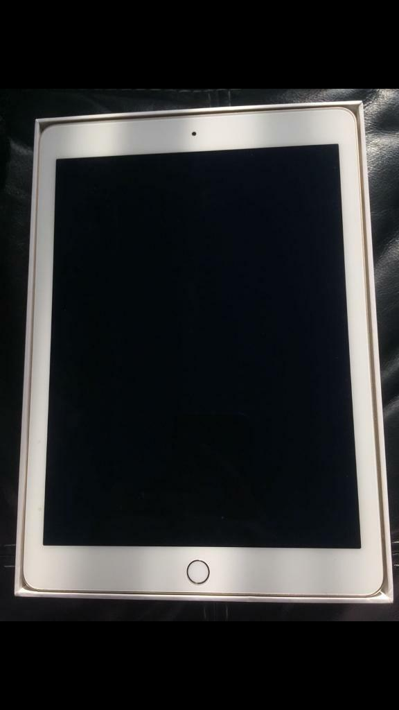Brand new iPad Air 2 64GB gold boxed