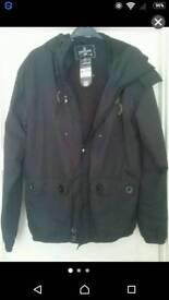 Black Airwalk light weight jacket size small