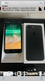 Apples IPhone 7 Plus 256gb Unlocked very good condition