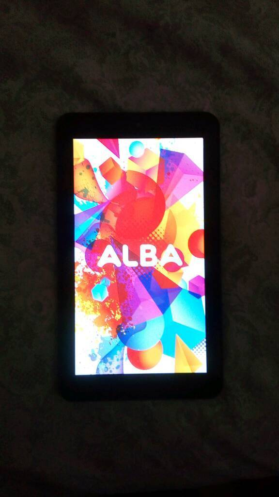 Alba 7 Inch 16GB WiFi Android Tabletin Consett, County DurhamGumtree - Alba tablet 7inchNot used much£30 ONORING ONLY PLEASETEXTS WILL NOT BE REPLIED TOO