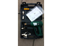 2000w Wickes Heat Gun with Case and Accessories