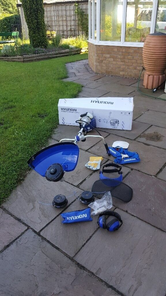 Hyundai 4 Stroke Petrol Grass Trimmer (Strimmer) and Brush Cutter (New) |  in Newport | Gumtree