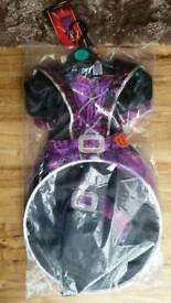 Halloween 2pc Wicked Witch Dress w/Sounds sz 3-4 yrs