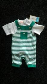 Brand new baby outfit - size 0-3 months