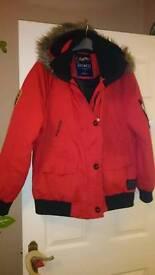 Red kangaroos coat