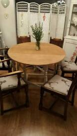 SHABBY CHIC Table & four chairs