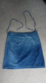 Ralph Lauren denim wrap skirt - size 12