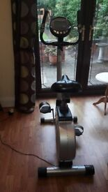 Exercise Bike - Excellent condition - different programs can be dismantled to fit into car.
