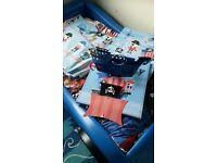 Next boys pirate bedroom bundle
