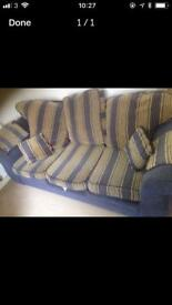 3 seater sofa - free to collector