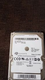 SEAGATE 2.5 inch 1TB hard drive(compatible laptop,ps3-4,xbox)