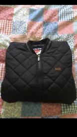 Lee cooper PU quilted men's jacket