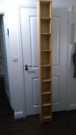 Tall DVD stand